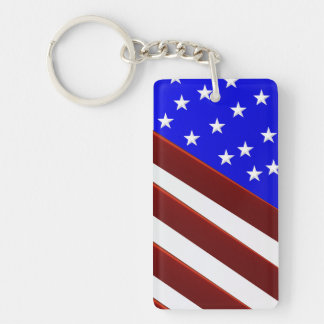My American Flag -key chain