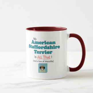 My American Staffordshire Terrier is All That! Mug