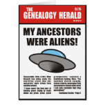 My Ancestors Were Aliens! Cards