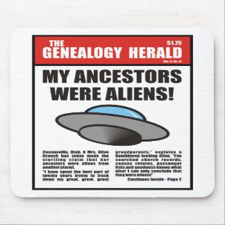 My Ancestors Were Aliens Mouse Pad