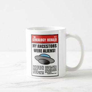 My Ancestors Were Aliens! Classic White Coffee Mug