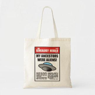 My Ancestors Were Aliens! Tote Bag