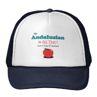 My Andalusian is All That! Funny Horse Mesh Hat