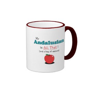 My Andalusian is All That Funny Horse Mugs