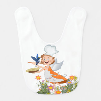 "My angel ""Eats""! Baby Bib"