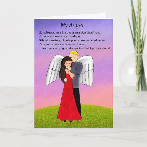 My Angel Greeting Card