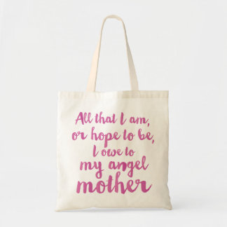 My angel Mother's Day bag
