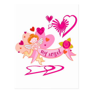 My Angel Valentine Post Cards