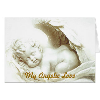 My Angelic Love Greeting Card-Customize