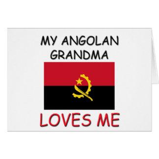 My Angolan Grandma Loves Me Card