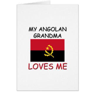 My Angolan Grandma Loves Me Greeting Cards