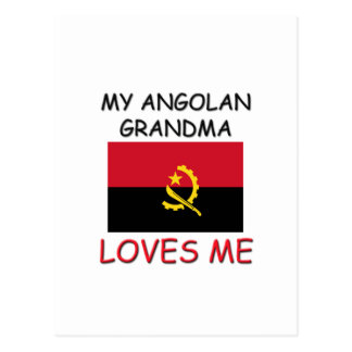 My Angolan Grandma Loves Me Post Cards