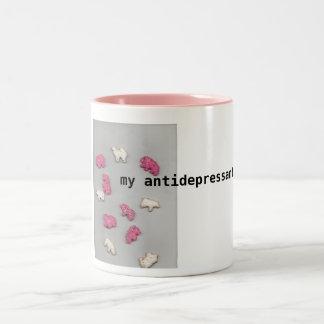 My Antidepressants Two-Tone Coffee Mug