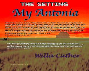 my antonia setting