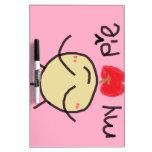 My Apple Pie Dry Erase White Board