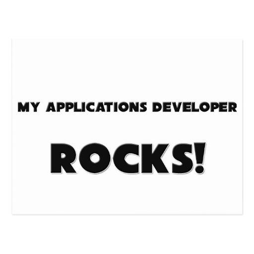MY Applications Developer ROCKS! Postcard