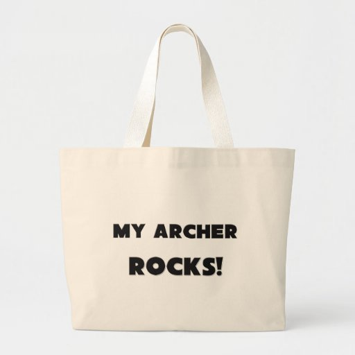 MY Archer ROCKS! Tote Bags