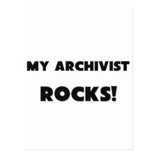MY Archivist ROCKS! Postcard