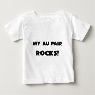 MY Au Pair ROCKS! Baby T-Shirt
