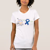 My Aunt An Angel - Anal Cancer T-Shirt