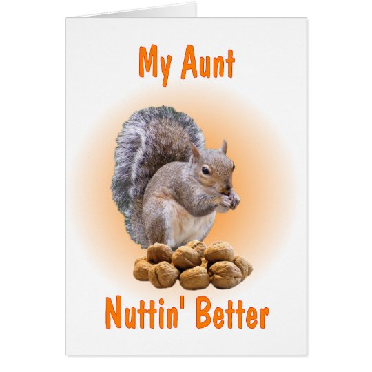 My Aunt Card