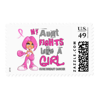My Aunt Fights Like a Girl 42 9 Breast Cancer Stamps