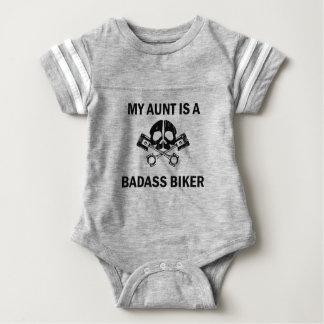 My Aunt Is A Badass Biker Baby Bodysuit