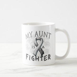 My Aunt Is A Fighter Grey Coffee Mug