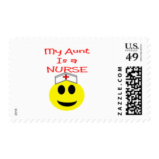 My Aunt is a NURSE Stamp