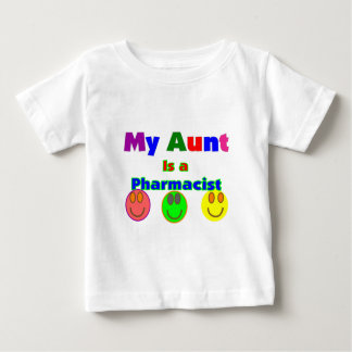 """My Aunt is a pharmacist""  Kids Gifts Baby T-Shirt"