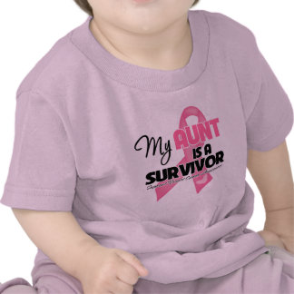 My Aunt is a Survivor - Breast Cancer Tshirt