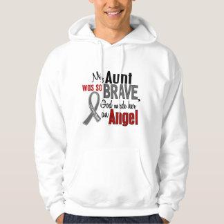 My Aunt Is An Angel 1 Brain Cancer Hoodie