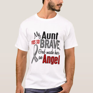 My Aunt Is An Angel 1 Brain Cancer T-Shirt