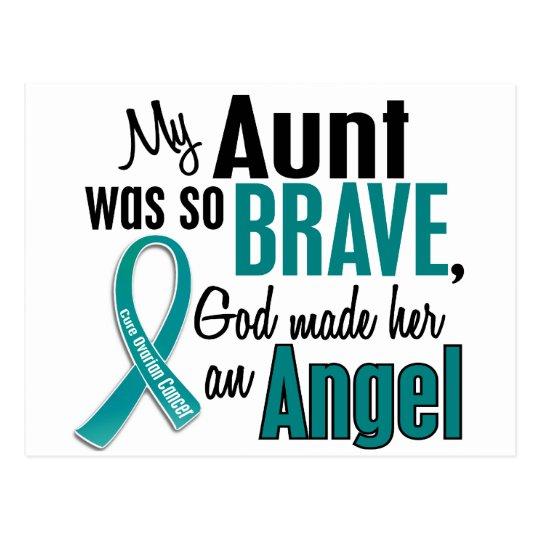 My Aunt Is An Angel 1 Ovarian Cancer Postcard