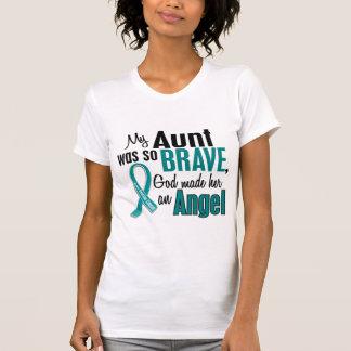 My Aunt Is An Angel 1 Ovarian Cancer T-Shirt