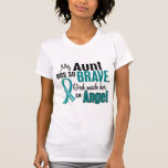 My Aunt Is An Angel 1 Ovarian Cancer Tshirt