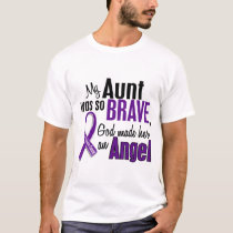 My Aunt Is An Angel Pancreatic Cancer T-Shirt