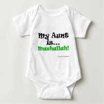 My Aunt is Mashallah! Baby Bodysuit
