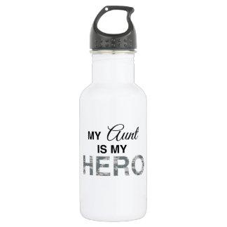 My Aunt is my Hero Digital Camouflage Water Bottle