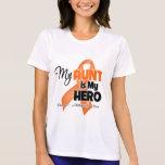 My Aunt is My Hero - Leukemia Shirts