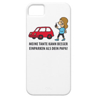 my aunt knows better a parking than your dad iPhone SE/5/5s case
