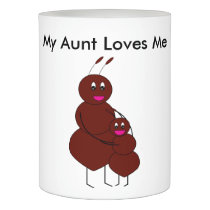 My Aunt Loves Me Ant Flameless Candle