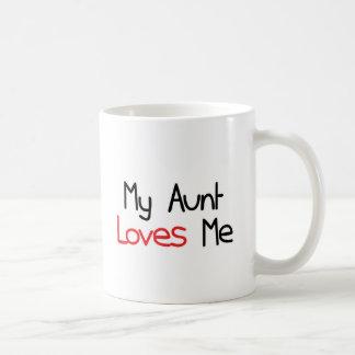 My Aunt Loves Me Coffee Mug