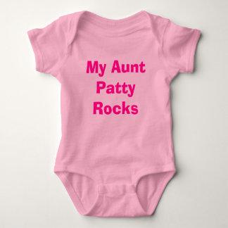My Aunt Patty Rocks Baby Bodysuit