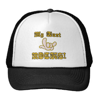 My Aunt Rocks Mesh Hats