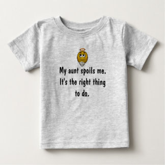 """My Aunt Spoils Me/Right Thing"" - w/ Angel Smiley Baby T-Shirt"