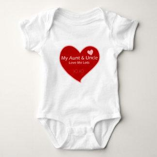 My Aunt & Uncle Love Me Baby Bodysuit