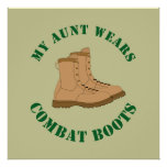 My Aunt Wears Combat Boots - Poster