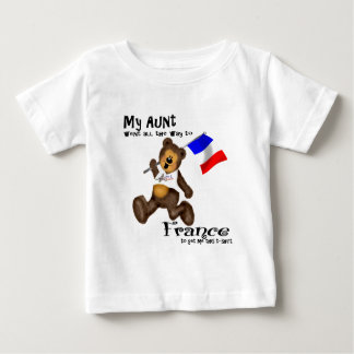 My Aunt went to France.... Baby T-Shirt