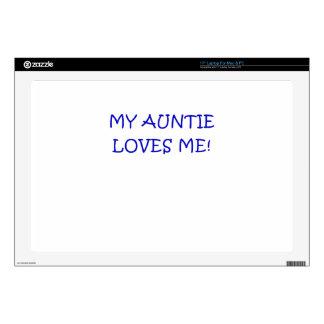 "My Auntie Loves Me 17"" Laptop Decals"